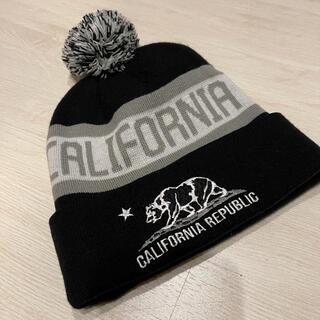 ロスアンゼルス California ビーニー ニット帽(ニット帽/ビーニー)