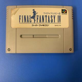 スーパーファミコン(スーパーファミコン)のSFC ファイナルファンタジー4(家庭用ゲームソフト)