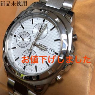 セイコー(SEIKO)のSEIKO クロノグラフ 新品未使用(腕時計(アナログ))