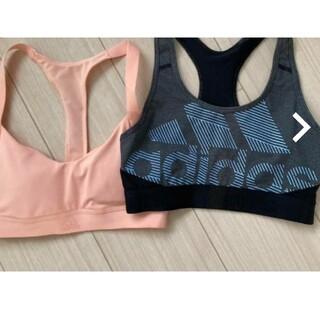 adidas - adidas アディダススポーツブラ  2枚