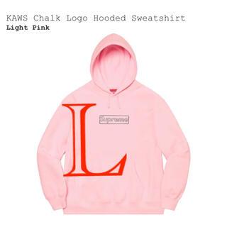 Supreme - Supreme KAWS Chalk Logo Light Pink Large