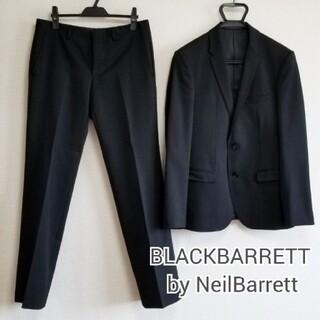 ブラックバレットバイニールバレット(BLACKBARRETT by NEIL BARRETT)のBLACKBARRETT ブラックスーツ(セットアップ)
