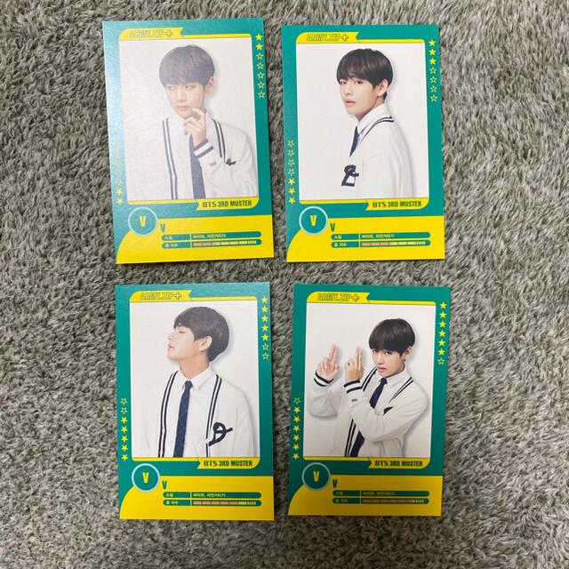 防弾少年団(BTS)(ボウダンショウネンダン)のテヒョン プレイヤーカード BTS 公式 エンタメ/ホビーのCD(K-POP/アジア)の商品写真