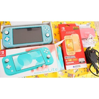 Nintendo Switch - Nintendo Switch NINTENDO SWITCH LITE ターコ