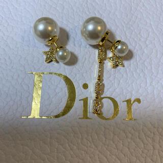 Dior - ロゴピアス