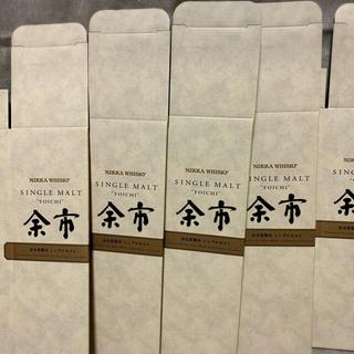 ニッカウイスキー(ニッカウヰスキー)の余市 空箱 5枚 化粧箱 ニッカ ウイスキー(ウイスキー)