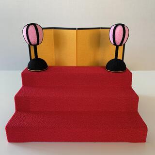 アンパンマン - 【三段飾り(赤)】あつまれアンパンマン P68・60 ひな祭り雛人形 お道具のみ
