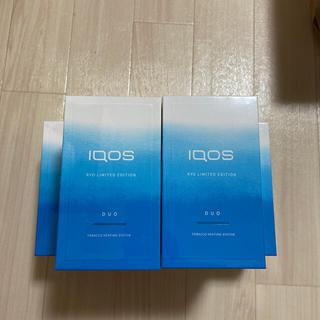 アイコス(IQOS)のiQOS 涼 限定モデル 4個セット 未開封 (タバコグッズ)