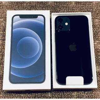 アイフォーン(iPhone)の【新品・未使用】iPhone12 mini 128GB SIMフリー 黒(スマートフォン本体)