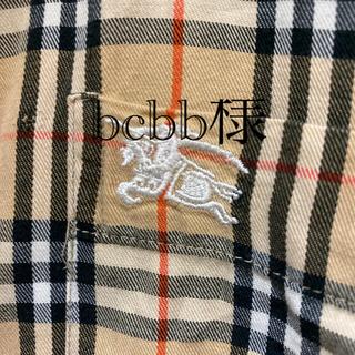 BURBERRY - BURBERRY LONDON バーバリー ロンドン ノバチェックシャツ