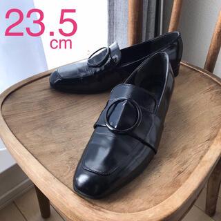サヴァサヴァ(cavacava)のサヴァサヴァ cava cava ラウンドバックルローファー (ブラック)(ローファー/革靴)