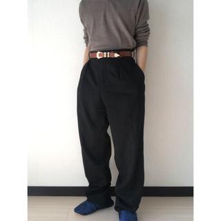 Yohji Yamamoto - YFM Moisture Gabardine Wide-Slacks 4