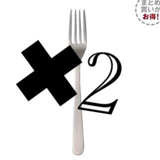 ムジルシリョウヒン(MUJI (無印良品))の無印良品 ステンレスデザートフォーク 約16cm(カトラリー/箸)