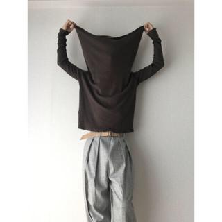 ジャンポールゴルチエ(Jean-Paul GAULTIER)のJPG MAILLE FEMME Wide/Long-Neck Knit(ニット/セーター)