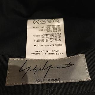 Yohji Yamamoto - ヨウジ ヤマモト ハット帽 黒 ブラック 2012 HD-H09-101