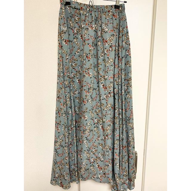 DOORS / URBAN RESEARCH(ドアーズ)のDOORS フラワープリントギャザースカート レディースのスカート(ロングスカート)の商品写真