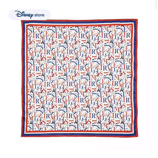 Disney(ディズニー)のマリー おしゃれキャット スカーフ ディズニーストア バンダナ ショール エンタメ/ホビーのおもちゃ/ぬいぐるみ(キャラクターグッズ)の商品写真