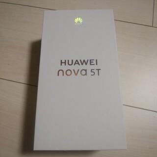 HUAWEI - 【美品】HUAWEI nova 5T 楽天モバイル