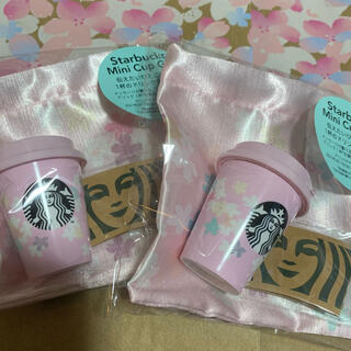 Starbucks Coffee - スターバックスサクラ2021 ミニカップギフト2個チケットなし