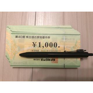 ビックカメラ 株主優待 10万円分(その他)