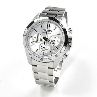 セイコー(SEIKO)のメンズ腕時計 セレクション SBTR009 シルバー クロノグラフ(腕時計(アナログ))