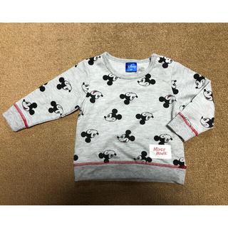Disney - ミッキーマウス 薄手トレーナー スウェット