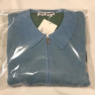 ジョンローレンスサリバン(JOHN LAWRENCE SULLIVAN)の【新品未使用】ttt msw yosemite knit polo(ニット/セーター)