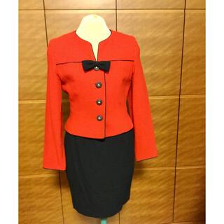 ギンザマギー(銀座マギー)のマギースポーツ 赤×紺スーツ(セット/コーデ)