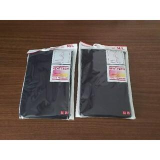 UNIQLO - ユニクロ ヒートテックタイツ ブラック M/Lサイズ