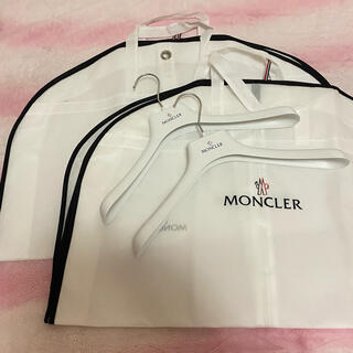 MONCLER - 新品 MONCLER ハンガー ガーメント 4点セット