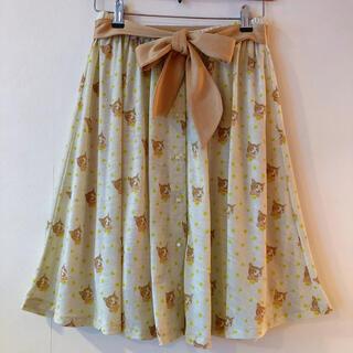 franche lippee - フランシュリッペ♡鈴ネコちゃん リボン付きスカート♡猫 ねこ