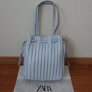 ZARA - ZARA プリーツバッグ Mサイズ 新品未使用