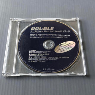プロモ盤CD DOUBLE 「Angel U~KREVA REMIX」 非売品