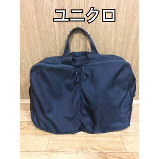 UNIQLO - 【ビジネスバック】ユニクロ 黒 3way メンズ