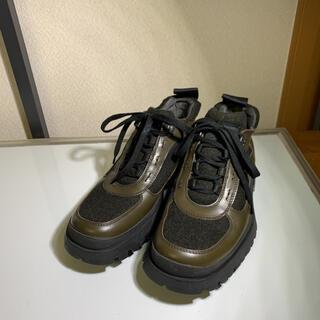 プラダ(PRADA)の新品未使用品 PRADA プラダ トレッキングシューズ  ブーツ サイズ5(ブーツ)