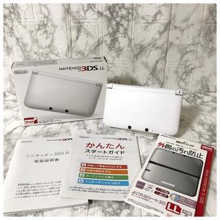ニンテンドー3DS - 【美品】ニンテンドー3DS LL ホワイト