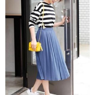 ユニクロ(UNIQLO)のUNIQLO プリーツスカート(ひざ丈スカート)