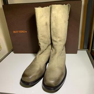 ブッテロ(BUTTERO)の新品未使用品 BUTTERO ブッテロ エンジニアブーツ サイズ41(ブーツ)