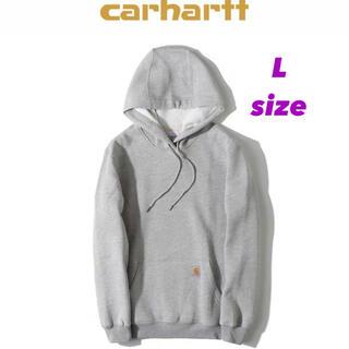 carhartt - ダルマ様 Carhartt パーカー グレー Lサイズ