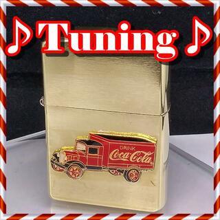 ジッポー(ZIPPO)の№362 ZIPPO ♪チューニング&カスタム コカ・コーラ トラック(タバコグッズ)