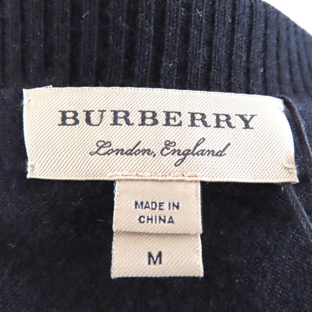 BURBERRY(バーバリー)の【新品】 バーバリー burberry   カーディガン 黒 ブラック レディースのトップス(カーディガン)の商品写真