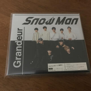 Johnny's - SnowMan  3rdシングル『Grandeur』初回盤Aシリアルナンバー付き