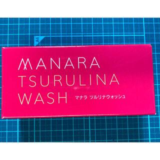 マナラ(maNara)のナマラ ツルリナウォッシュ(洗顔料)