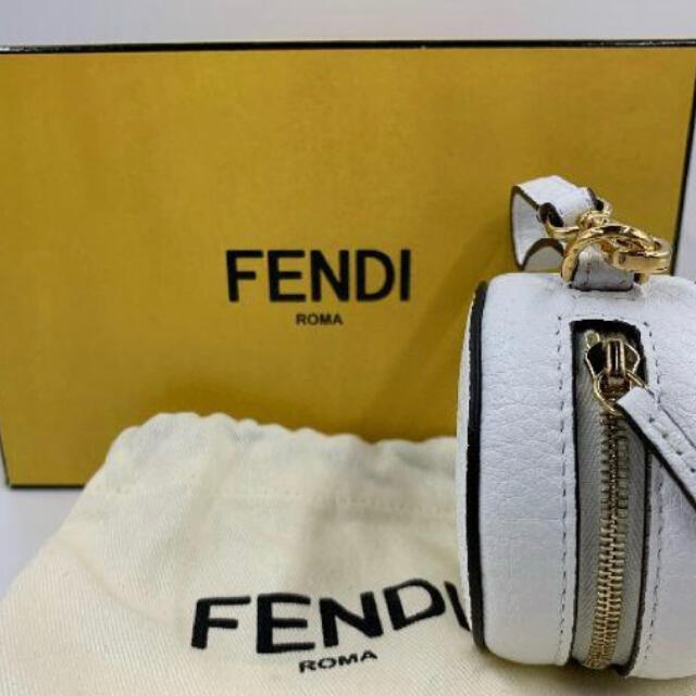 FENDI(フェンディ)の【新品】 フェンディ fendi  バックパック 白 ホワイト メンズのバッグ(バッグパック/リュック)の商品写真