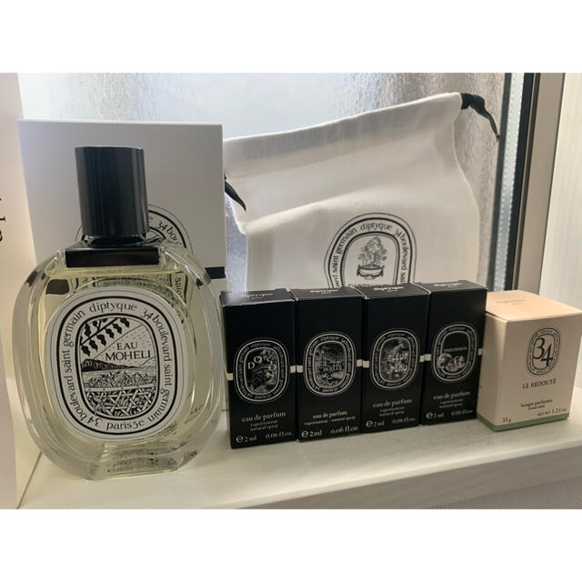 diptyque(ディプティック)のDIPTYQUE ディプティック MOHELI モエリ コスメ/美容の香水(ユニセックス)の商品写真