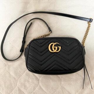 Gucci - 【期間限定お値下げ】グッチ ggマーモントキルティングショルダーバッグ