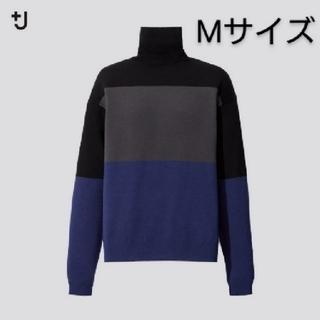 UNIQLO - ユニクロ ジルサンダー メリノブレンドタートルネックセーター ブラック M 新品