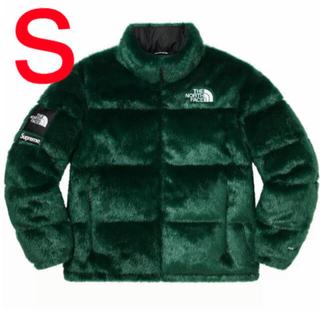 シュプリーム(Supreme)のSupreme TNF Faux Fur Nuptse Jacket (ダウンジャケット)