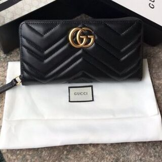 Gucci - GUCCiマーモント コンチネンタルウォレット 長財布