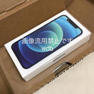 iPhone - SIMフリー iPhone 12 128GB ブルー 未開封